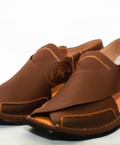 peshawar zalmi chappal-brown color